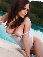 Anastasia-Harris - Glamour Model - Anastasia Harris Nude Photographs & Videos